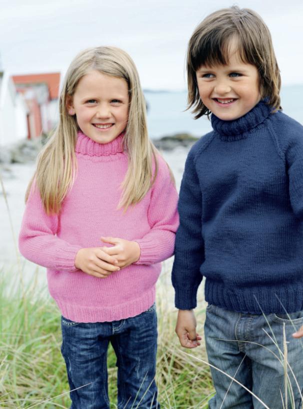 Basis gensere til barn
