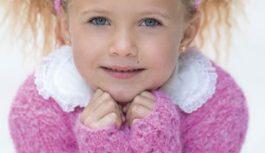 Colette tunika-kjole & hårbånd til barn