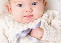 Blondefin kjole til baby